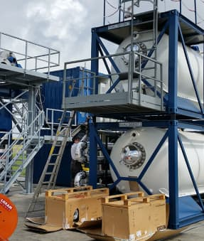Bespoke Drilling Waste Treatment Equipment & Personnel For Waste Management Facilities